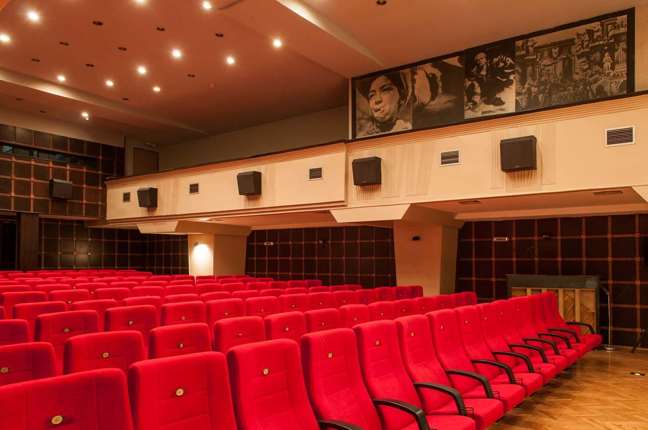 Jugoslovenska kinoteka – Sala "Dinko Tucaković", Kosovska 11, Beograd