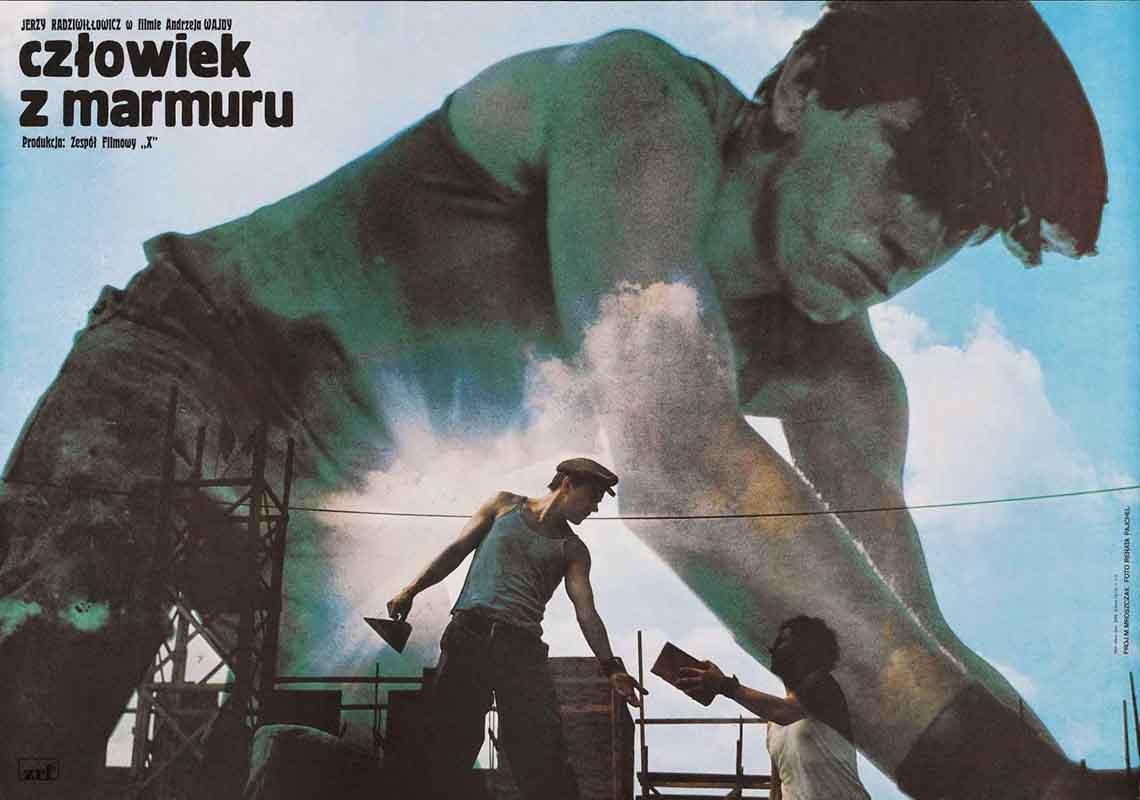 Čovek od mramora (Czlowiek z Marmuru, 1977)