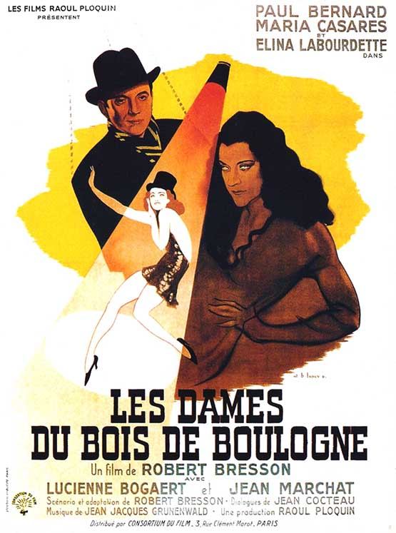 Gospodje iz bulonjske sume (Les dames du Bois de Boulogne, 1945)