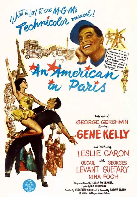 Amerikanac u Parizu (1951)