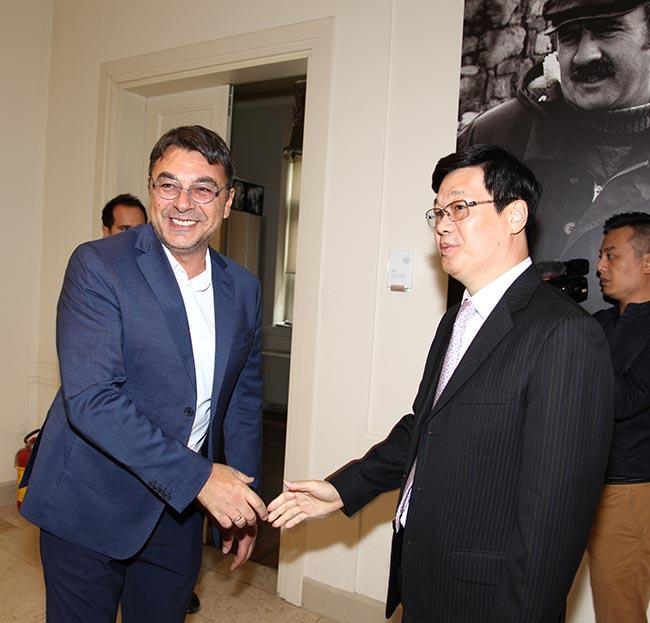 Kineska filmska delegacija u poseti Kinoteci-f