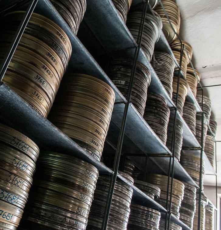 Arhiv Jugoslovenske kinoteke – depo 1a