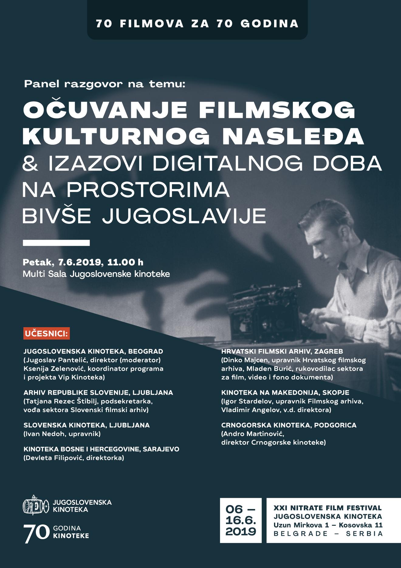 Ocuvanje filmskog kulturnog nasledja i izazovi digitalnog doba na prostorima bivse Jugoslavije