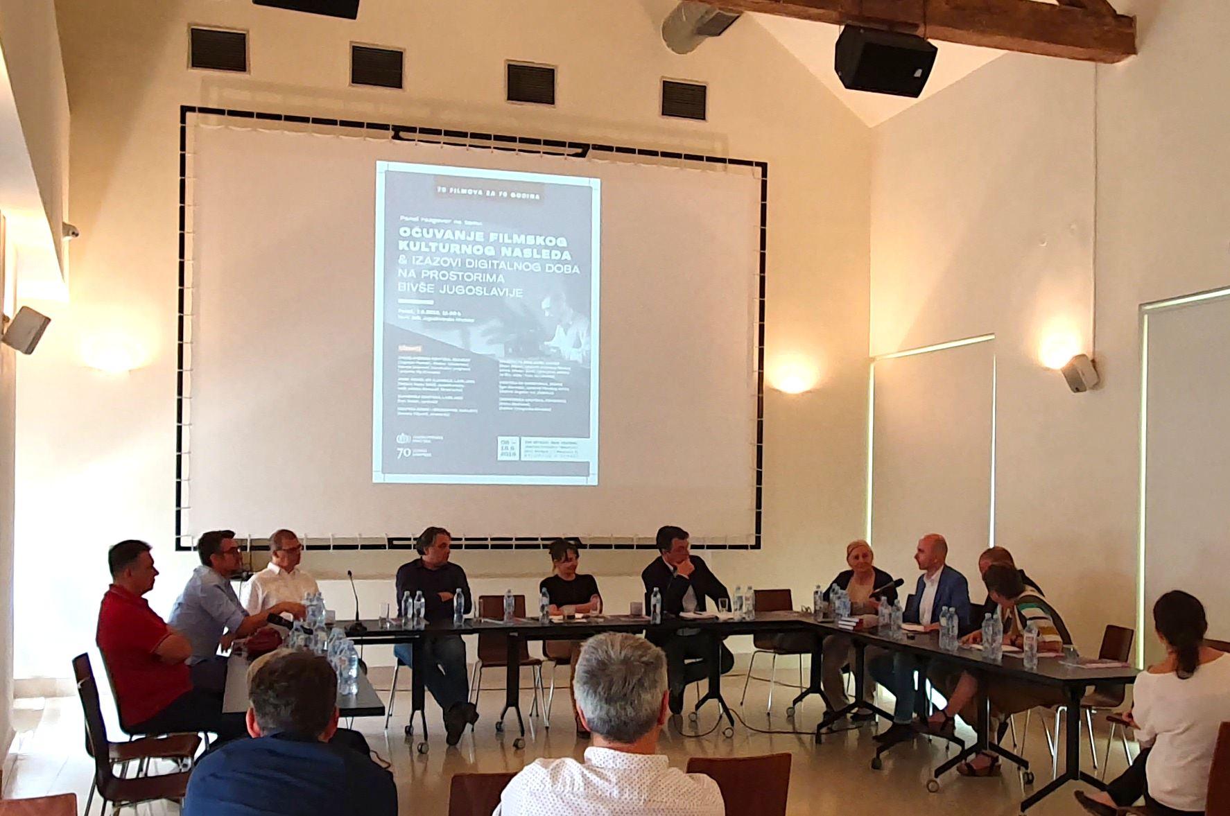 Panel-Kinoteka-2019-Ocuvanje filmskog kulturnog nasledja i izazovi digitalnog doba na prostorima bivse Jugoslavije